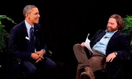 President Obama and Zach Galifianakis