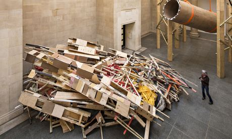 Dock by Phyllida Barlow at Tate Britain