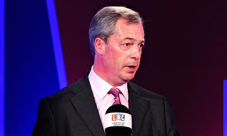 Nigel Farage debates Britain's EU membership