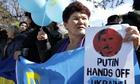 Crimean protesters