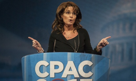 Sarah Palin speaking at CPAC 2013