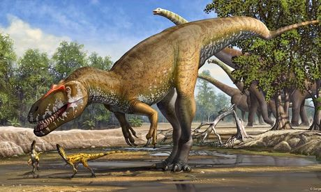 New dinosaur species discovered: Torvosaurus gurneyi
