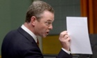 Christopher Pyne during question time