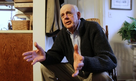 Author Wendell Berry at his home in Port Royal,  Kentucky.