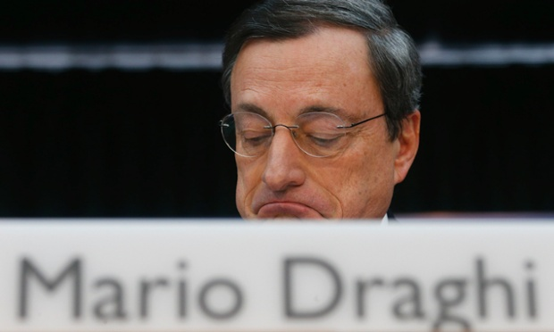 European Central Bank (ECB) President Mario Draghi.