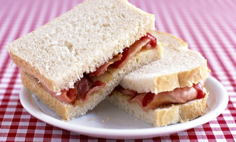 The end of the world is nigh. Time for a bacon sandwich