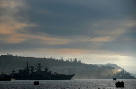 A view of the Russian navy Frigate