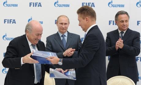 Blatter and Putin