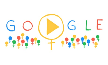 International Women's Day celebrated in Google doodle