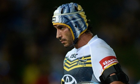 Johnathan Thurston of the North Queensland Cowboys