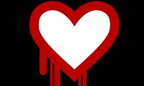 Heartbleed bug logo