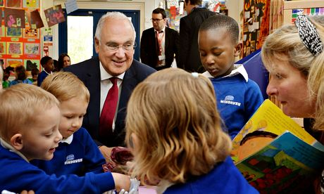 Sir Michael Wilshaw visit to nursery