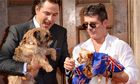 Simon Cowell, David Walliams and dogs