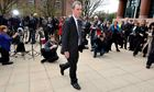 Nigel Evans outside Preston crown court