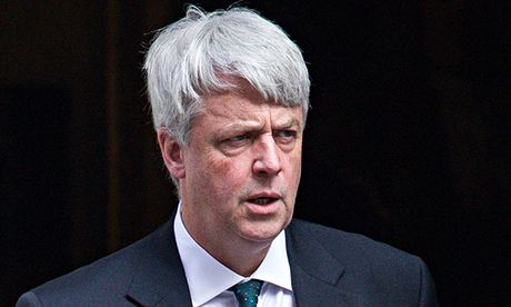 Andrew Lansley arrives at Downing Street