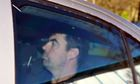 Seamus Daly, accused of the Omagh bombing in 1998, arrives at court in Dungannon, Northern Ireland.