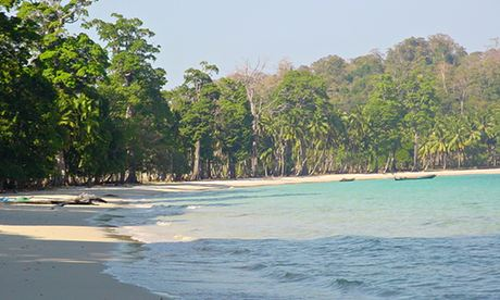 Long Island beach, Andaman and Nicobar Islands, India.