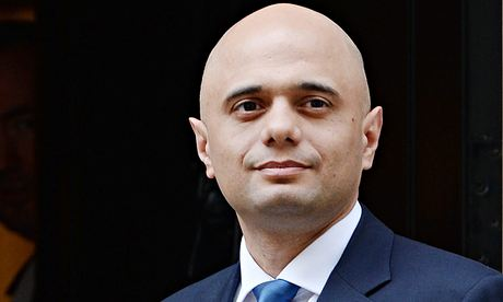 Cameron names Sajid Javid as new Culture Secretary following the resignation of Maria Miller.
