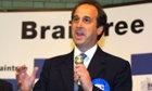 Is this the face of a feminist?  Brooks Newmark at his election as Tory MP for Braintree in 2005.