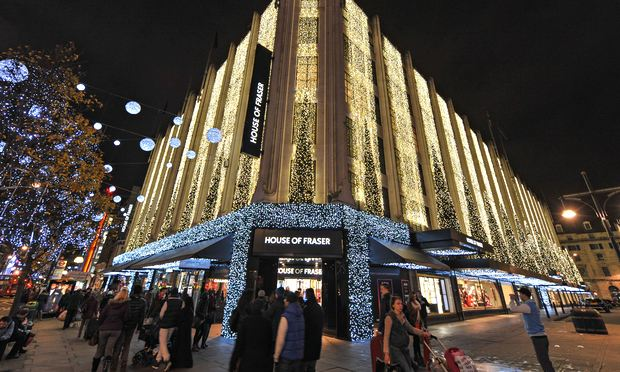 House of fraser sells 89 stake to chinese conglomerate for Housse of frazer