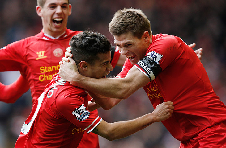 Premier League: Liverpool v Manchester City – in pictures ...