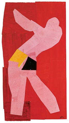 Small Dancer on a Red Background, 1937-8