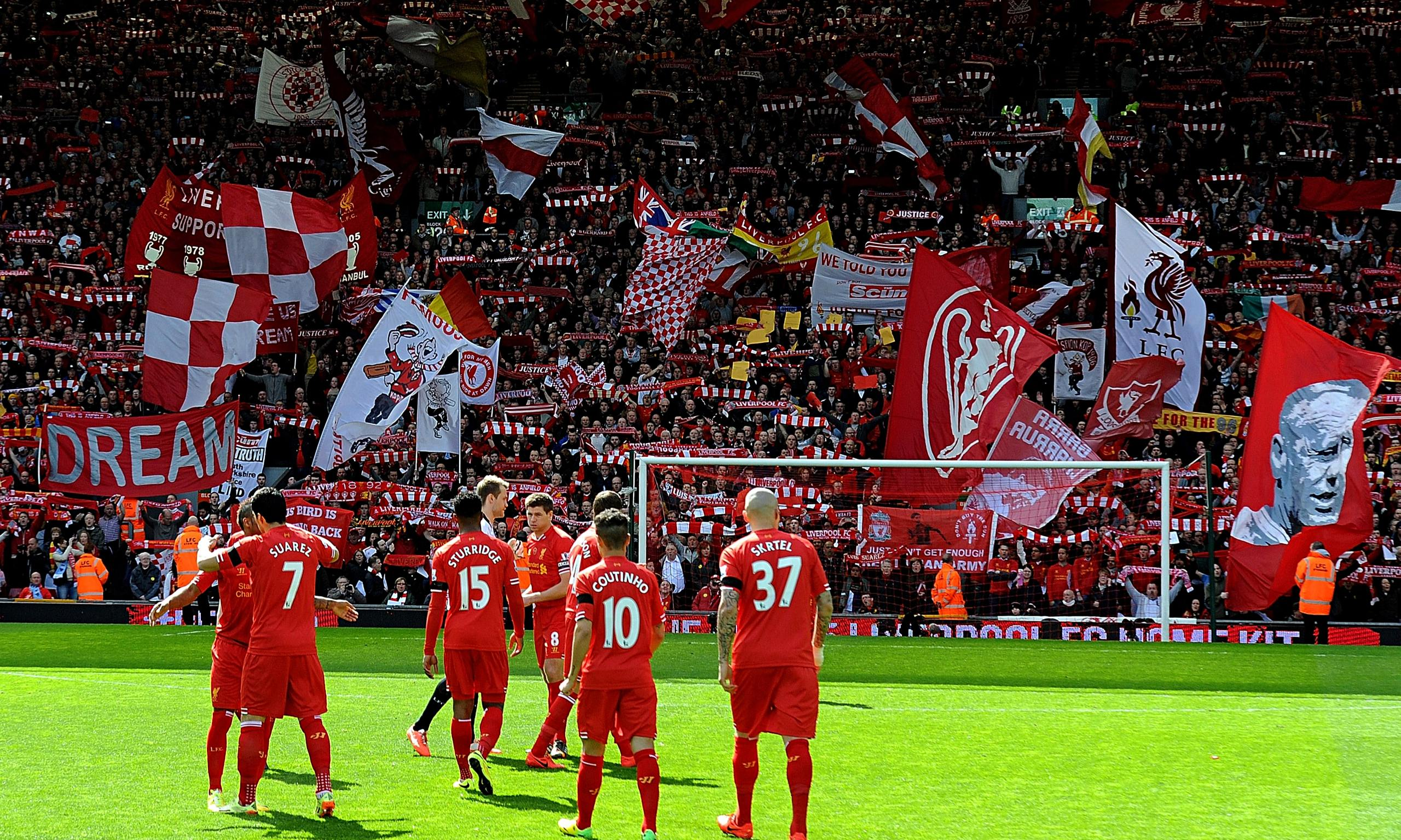 With hope in their hearts: Liverpool dare to dream once ...