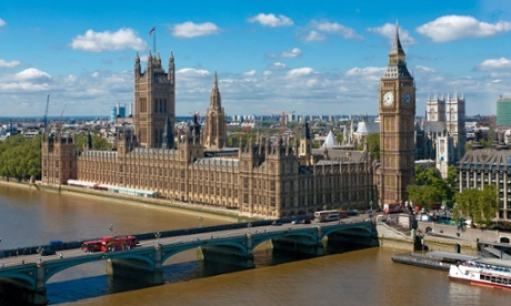 A sunny day in Westminster.
