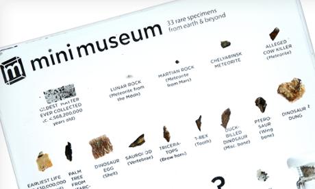 Mini Museum.