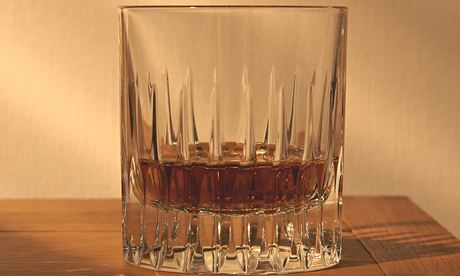 glass at night