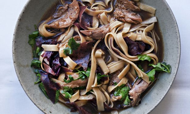 Nigel Slater's duck with udon noodles recipe | Life and style | The ...