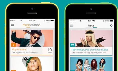 MusicQubed plans to launch apps for more partners in 2014.