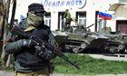 Pro-Russian in Kramatorsk