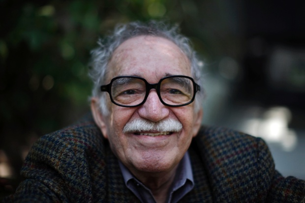 Gabriel García Márquez at his house in Mexico City, 2010