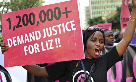 Kenya Liz rape victim