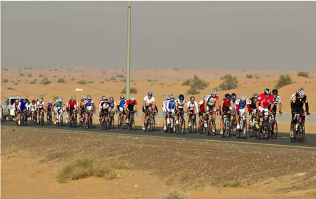 The Dubai Roadsters cycling club