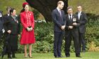 Prince William and Catherine Duchess of Cambridge visit Wellington, New Zealand - 07 Apr 2014