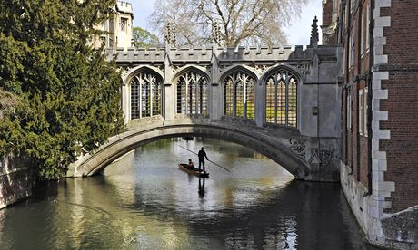 Cambridge, where town and gown has become a science/classics divide