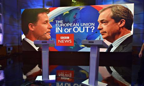 Farage and Clegg debate