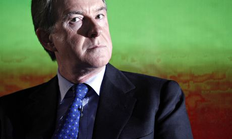 Peter Mandelson as business secretary