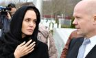Angelina Jolie and William Hague in Bosnia