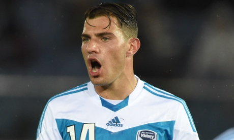 James Troisi of Melbourne Victory