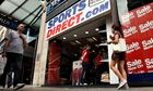A Sports Direct.com store on Oxford Street, London