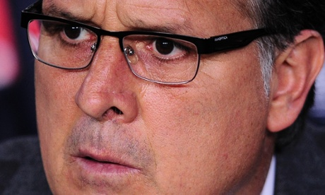 Some pain in Tata Martino's eyes, there.