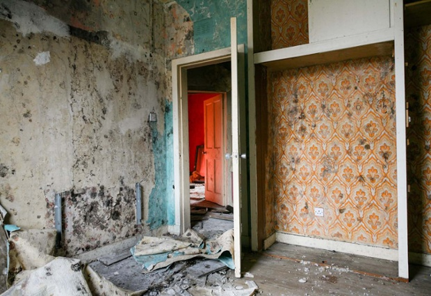 Inside the Old Oatlands Estate.