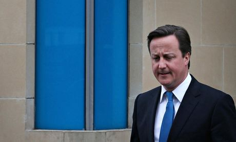 David Cameron accused of fostering division in UK