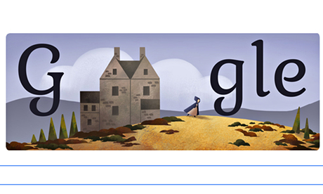 Charlotte Brontë celebrated with a birthday Google Doodle