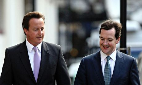 Osborne and Cameron … joined at the hip – for now.
