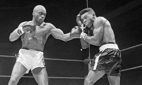 Rubin 'Hurricane' Carter, left, fighting Gomeo Brennan in New York in 1963. Photo Credit: Bettmann/Corbis