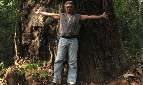 Brazilian nut-collector-turned-activist José Cláudio Ribeiro da Silva - known by many as Zé Cláudio - before he was killed.